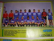 FOOTBALL COUPURE PRESSE PHOTO COULEUR 20x15 D2 GrA GRENOBLE 1987/88