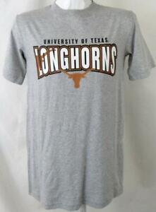 "Texas Longhorns Men Small Screened ""UNIVERSITY OF TEXAS LONGHORNS"" T-shirt UTX 8"