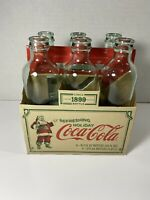 Christmas Coca-Cola Circa 1899 Holiday Limited Edition 6 Pack Bottles 9.3fl Oz.