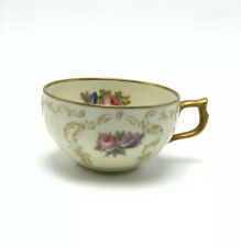 Rosenthal Sanssouci Germany Ivory Demitasse Cup Roses Bouquet