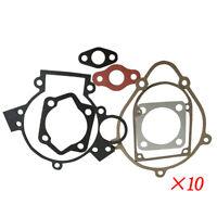 10Pcs Gasket For 2 Stroke Motorized Motorised Bicycle Push Bike 80cc Engine Kit