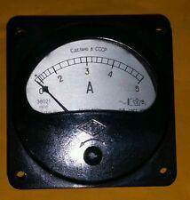 1 Stck Einbauinstrument  5 Amp. Wechsestroml 38021 UdSSR NOS 2,5%  TOP Zustand