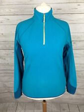 Women's Berghaus Pull Over Fleece Jacket - UK16 - Turquoise - Great Condition