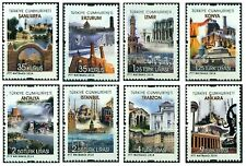 TURKEY 2014, PERMANENT POSTAL STAMPS WITH THE THEME OF TOURISM, MNH