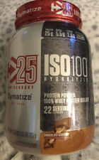Dymatize ISO 100 Whey Protein Isolate 1.6 lb CHOCOLATE CARAMEL 25th ANNIVERSARY