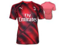 Puma AC Mailand Aufwärm-Trikot rot Milan Stadium Jersey ACM Fan Shirt XS - XXL