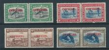 [50059] South-West Official lot 4 good bilingual pairs MH Very Fine stamps