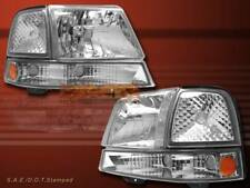 98 99 00 FORD RANGER DIAMOND CRYSTAL HEADLIGHTS + CORNER SIGNAL LIGHTS CLEAR