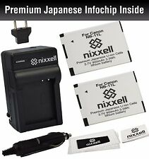 NX-NB11LK1 NX Battery(2pack) and charger for Canon A2300 IS,A2400 IS,A2500,A2600
