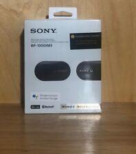 Sony WF-1000XM3 True Wireless Noise Canceling In Ear Headphones-Black NEW SEALED