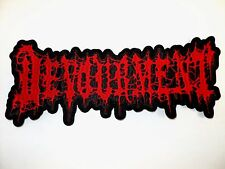 DEVOURMENT EMBROIDERED BACK PATCH
