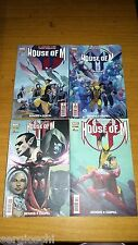 HOUSE OF M 1 2 3 4-SERIE COMPLETA-INCREDIBILI XMEN-NUOVI VENDICATORI-MARVEL-WW14
