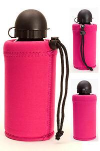 Neopren Flaschenhülle 0,5 Liter pink für SIGG oder ähnliche Flaschen