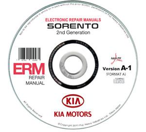 Kia Sorento (XM) 2009-2014 Workshop Manual Repair Manual On CD