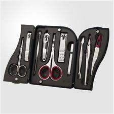 Three Seven 777 Travel Manicure Grooming Kit Nail Clipper Set 10PCS TS-5500VC