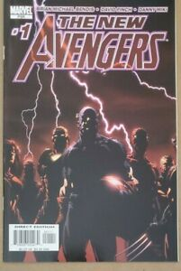 NEW AVENGERS 1 (2005) NM Marvel 1st Appearance of The Raft & Spiderman joins 🔑