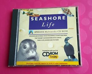 Seashore Life Multimedia Encyclopedia Reference CD