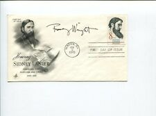 Franz Wright Pulitzer Prize Winner Poet Author Signed Autograph FDC