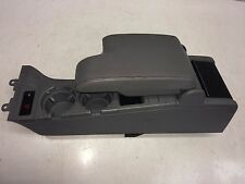 BMW E46 Armrest Center Console in Grey Leather and Cup Holders 8217946