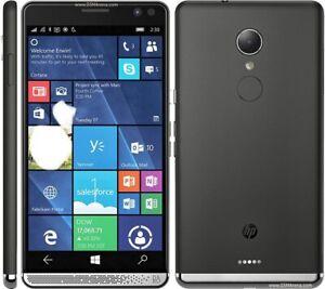 HP ELITE X3 DUAL SIM/GRAPHITE COLOUR/UNLOCKED/WINDOWS 10 SMARTPHONE Good Con