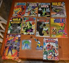 COMIC BOOK DEAL FEATURING THE INCREDIBLE HULK / SHE-HULK + FREE ACTION FIGURES