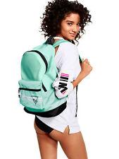 Victoria's Secret PINK Everyday Backpack Book-bag Tote Mint Seafoam Black BNWT