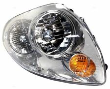 For 03 04 Infinity G35 Sedan, Left Driver Headlight Headlamp Light Lamp