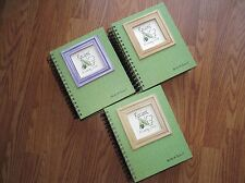 A Cooking Journal - Avocado Green Hard Cover CJ-32 NEW