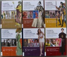 Fashion Costume& Culture:Clothing Headwear, Body Decorations & Footwear, 6 Vol.