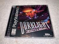 Darklight Conflict (Sony PlayStation 1, 1997) PS1 Black Label Complete Nr Mint!