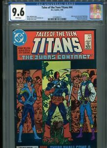 Tales of the Teen Titans #44  (1st Jericho)  CGC 9.6 WP