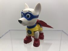PAW PATROL APOLLO Rare SUPER PUP ACTION PACK FLYING DOG FIGURE