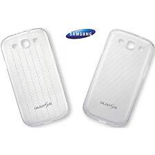 EFC-1G6SWECS Cover posteriore Samsung Galaxy S3 bianco trasparente 2 pezzi