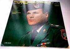 SSgt Barry Sadler of The Green Berets '66 RCA Victor LPM3605 Vinyl LP Strong VG+