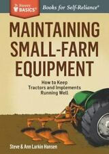 Maintaining Small-Farm Equipment: How to Keep Tractors and Implements Running We