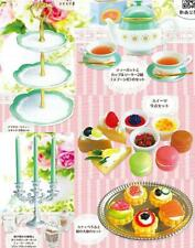 Toys spirits traditional english afternoon tea mascot capsule Miniature Full set
