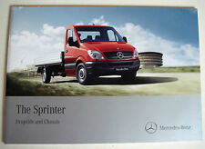 Mercedes . Sprinter . Dropside and Chassis . 2010 Sales Brochure