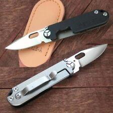 Navaja y-start lk5009 Black - 440c-g10 + tc4 Titanium-frame-Lock