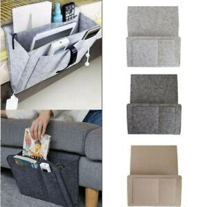 Bedside Pocket Caddy Organizer Hanging Storage Bed Desk Bag Phone Book Holder UK