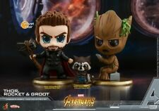 Hot Toys Avengers Infinity War Rocket Thor Groot  Cosbaby Set
