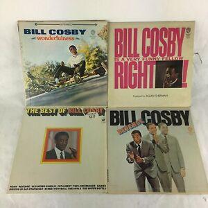 Bill Cosby Vintage Vinyl Record Album Set of 4 Comedy Records