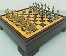 Baseball Chess Set 2003 Merkury Gaming Innovations Model MI-BSBL gold silver