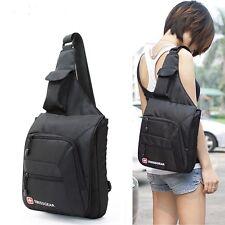"Swiss Gear Men Women's Shoulder Bag Hiking Portable Chest Bag Fit for 9.7"" IPID"