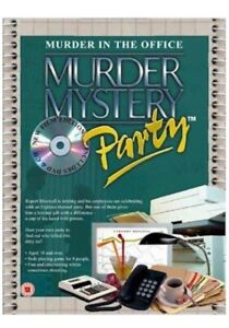 Murder Mystery Party MURDER IN THE OFFICE DVD CD game BV Leisure 2005 Sealed