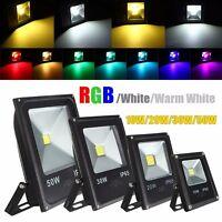 10W 20W 30W 50W RGB Warm White LED Flood Light Outdoor Garden Security Lamp IP65