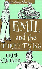 Emil And The Three Twins (Red Fox Classics), Good Condition Book, Kästner, Erich