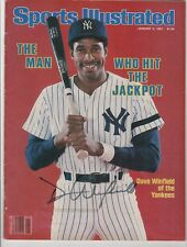 Dave Winfield Signed Sports Illustrated Auto New York Yankees No Label