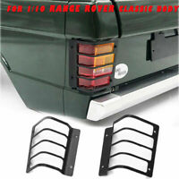 Metal Cover Rear/Tail Lamp Light Guard Protect for 1/10 Range Rover Classic Body