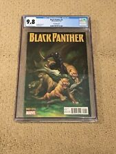 Black Panther 2 CGC 9.8 White Pages Cho Variant (Classic Lions Cover!!)