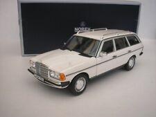 MERCEDES BENZ 200 T-model S123 1982 White 1/18 NOREV 183733